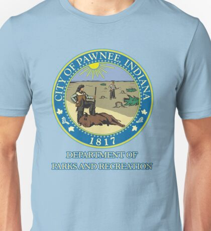 Pawnee Indiana Parks and Recreation Unisex T-Shirt