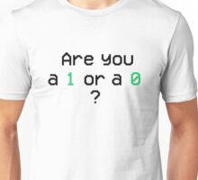 Mr. Robot - 1 or 0 Unisex T-Shirt