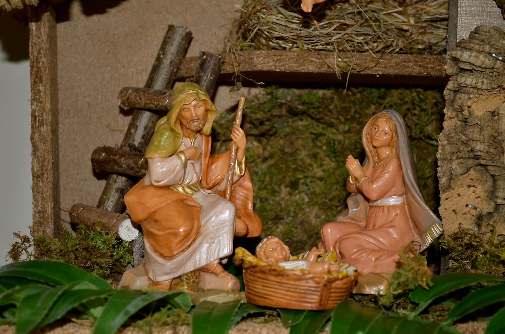 For Unto You is Born This Day...Luke 2:11 by Carol Clifford