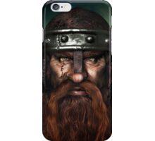 Warrior Dwarf iPhone Case/Skin