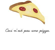 Ceci n'est pas une pizza. by blackeyedmarti