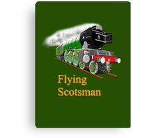The Flying Scotsman with Blinkers travel mug, etc. design Canvas Print