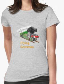 The Flying Scotsman with Blinkers travel mug, etc. design Womens Fitted T-Shirt
