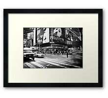 Streets of New York Framed Print