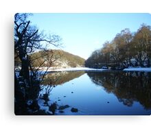 Reflections of Winter - Part I Canvas Print