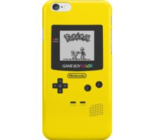 Game Boy Color with Pokemon by Shoro iPhone Case/Skin