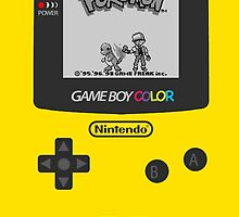 Game Boy Color with Pokemon by Shoro by Shoro