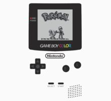 Game Boy Color with Pokemon by Shoro Kids Clothes