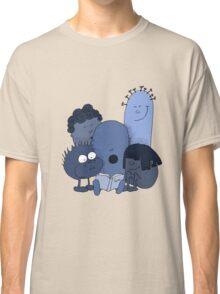 Blue beans reading Classic T-Shirt