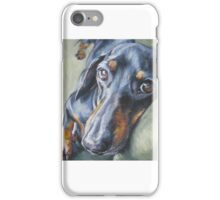 Dachshund Fine Art Painting iPhone Case/Skin