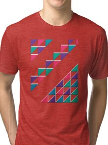 colorful triangle Tri-blend T-Shirt