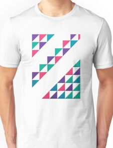 colorful triangle Unisex T-Shirt