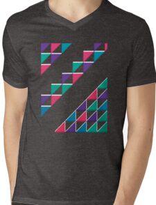 colorful triangle Mens V-Neck T-Shirt