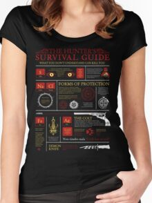 The Hunters Survival Guide Women's Fitted Scoop T-Shirt