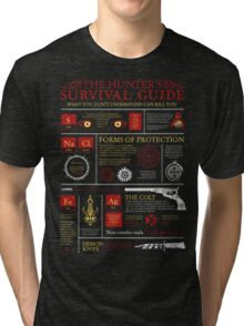 The Hunters Survival Guide Tri-blend T-Shirt