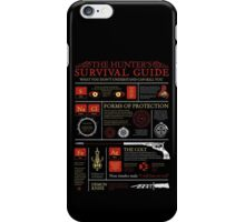 The Hunters Survival Guide iPhone Case/Skin