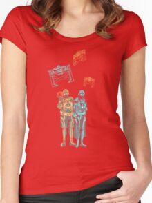 Tronbowski - Jeff Bridges parody shirt Women's Fitted Scoop T-Shirt