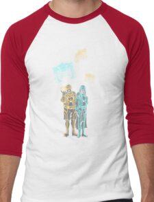 Tronbowski - Jeff Bridges parody shirt Men's Baseball ¾ T-Shirt