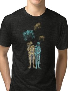 Tronbowski - Jeff Bridges parody shirt Tri-blend T-Shirt