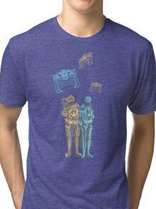 Tronbowski - Jeff Bridges parody shirt Tri-blend T-Shirt