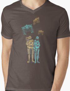 Tronbowski - Jeff Bridges parody shirt Mens V-Neck T-Shirt