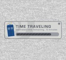 Time Traveling Pop Up Window Kids Tee