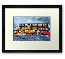 Manchesters Magical Christmas Campaign   Framed Print