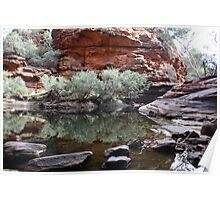 Kings Canyon Water Hole Poster