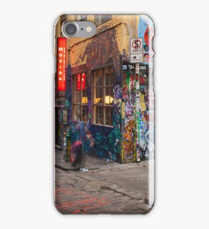 Corner Hosier Lane and Rutledge Place iPhone Case/Skin