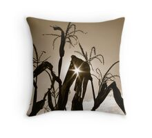 Corn Maze Throw Pillow