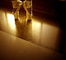 Dancers Feet by Michael  Herrfurth