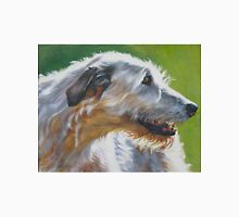 Irish Wolfhound Fine Art Painting T-Shirt