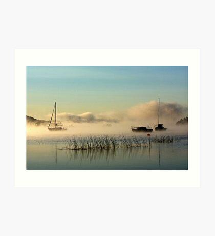 Fog Rising Art Print