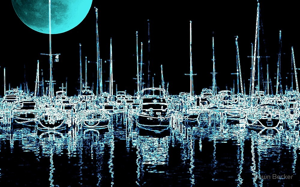 Neon Night ©  by Dawn M. Becker