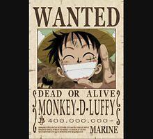 Luffy Wanted Unisex T-Shirt