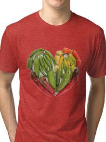 Hot Heart Tri-blend T-Shirt