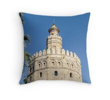 Sevilla - Torre del Oro Throw Pillow