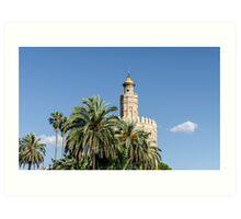 Seville - Torre del Oro  Art Print