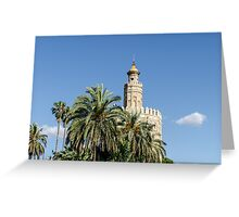 Seville - Torre del Oro  Greeting Card