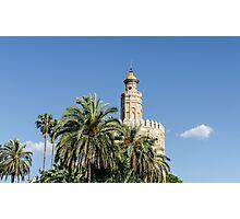 Seville - Torre del Oro  Photographic Print