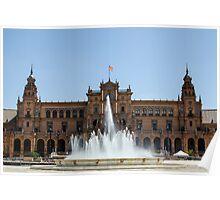 Seville - Plaza de Espana  Poster
