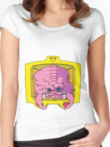 KRANG! Women's Fitted Scoop T-Shirt