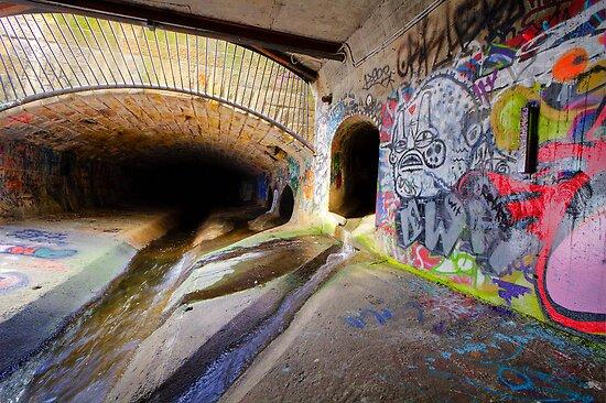 Hobart Rivulet by Mike Calder