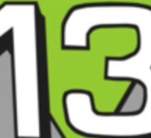 Deep 13 Badge Sticker