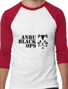 Anbu Black Ops Men's Baseball ¾ T-Shirt