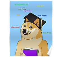 Doge - Back To School Poster
