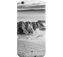 Sea Scape Taken In Black And White  iPhone Case/Skin