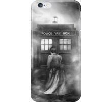Doctor Who - Doctor in the Mist iPhone Case/Skin