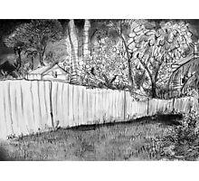 corner of the yard Photographic Print