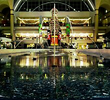 Tower City Fountains by Marcia Rubin